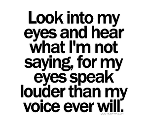 quote, eyes, and sayings image