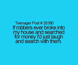 funny, money, and teenager post image