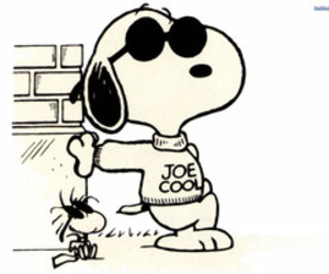 snoopy, cool, and joe cool image