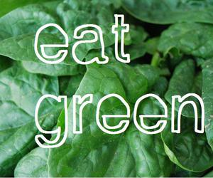 green, food, and eat image