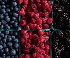 blackberry, blueberry, and delicious image