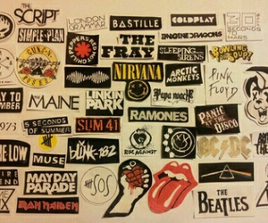 band, nirvana, and rock image