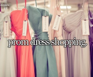 dress, Prom, and shopping image