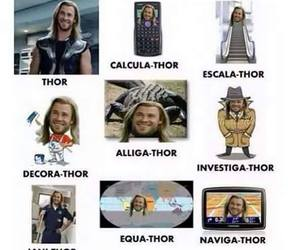 thor, funny, and Avengers image