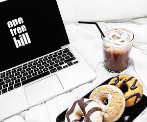 chill, coffee, and donuts image
