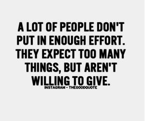 effort, give, and quotes image