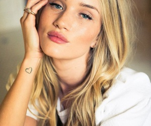 model, girl, and rosie huntington whiteley image