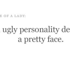 quote, lady, and pretty image