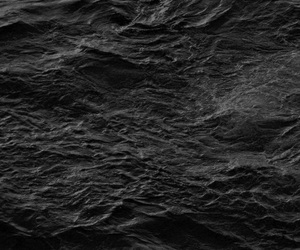 black, ocean, and sea image