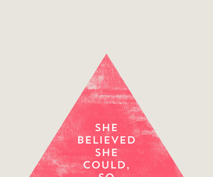 quote, believe, and pink image