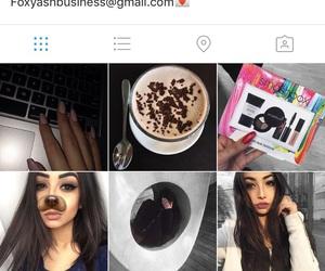 black hair, brown hair, and luxury image