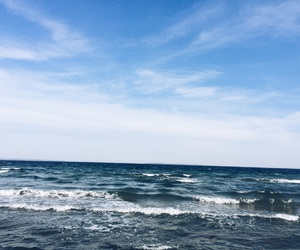 beach, blue, and goodness image