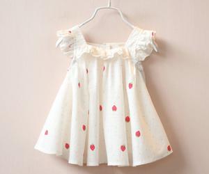 baby, dress, and rakkaus image