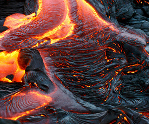 lava, volcano, and photography image