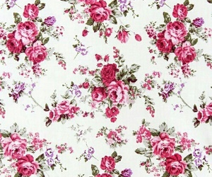 flowers, wallpaper, and pattern image