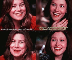 lovely, sisters, and meredith and lexie image