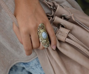 ring, bag, and style image