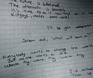 Lyrics, na na na, and mcr image