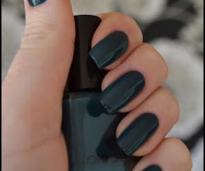long nails, nail polish, and oddflora image