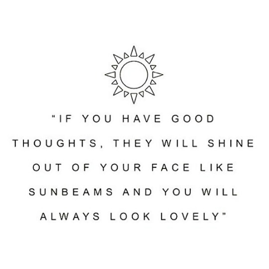 sunbeams, thoughts, and positive thoughts image