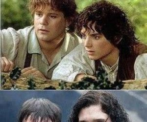 lord of the rings, Sam, and game of thrones image