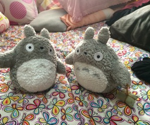 japan, totoro, and stuff toys image