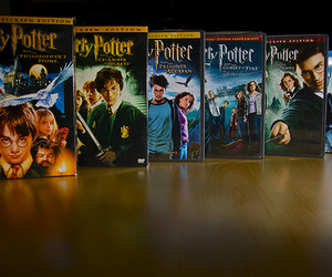 potter and harry potter movies image