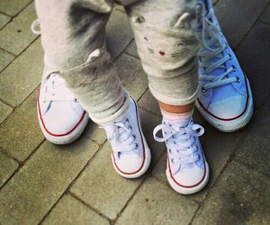 baby and converse image