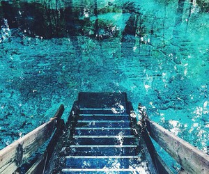 summer, blue, and water image