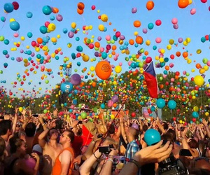 baloons, fun, and funny image