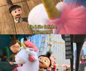 unicorn, agnes, and meu malvado favorito image