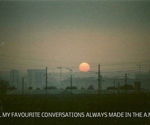 hipster, indie, and sunrise image