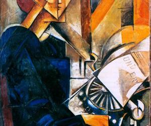 futurism, visual artist, and modern paintings image