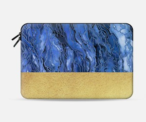 abstract art, chic, and laptop case image