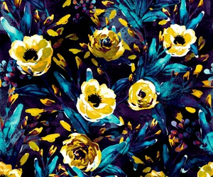 art prints, spring, and yellow image