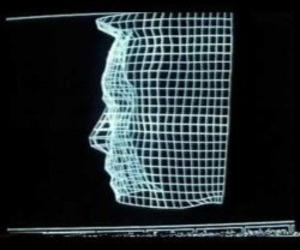 cyberpunk, human face, and virtual reality image
