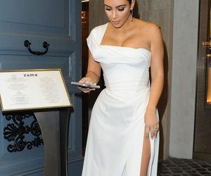 dress, kim, and theater image