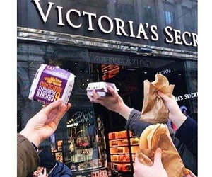 food, funny, and Victoria's Secret image