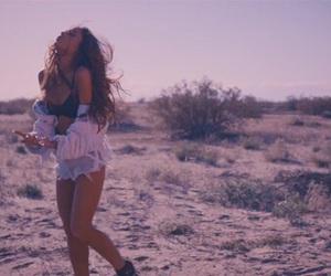 desert, into you, and ariana grande image