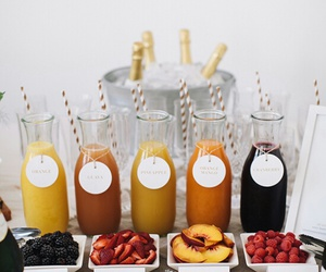 drink, fruit, and food image