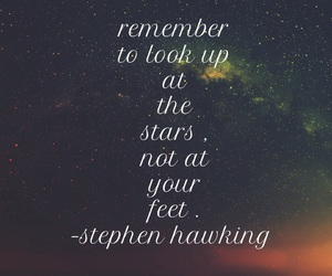 easel, hawking, and stars image