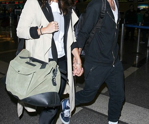 couple, danielle campbell, and louis tomlinson image