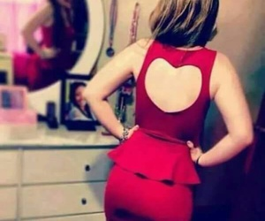 girl and heart image