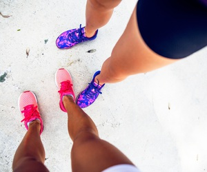 colors, shoes, and fashion image