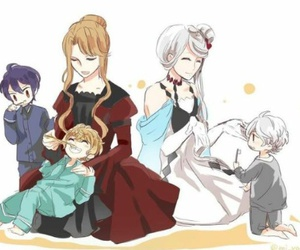 anime, reiji sakamaki, and shu sakamaki image