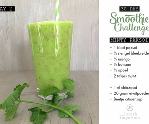 fitness, food, and green image