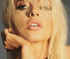blonde, girl, and jean watts image