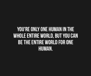 black, human, and quote image