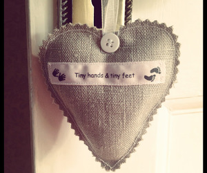 baby, crafty, and heart image