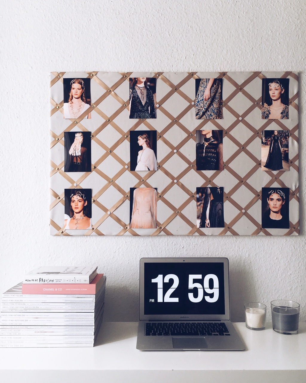 blogger, candles, and chanel image
